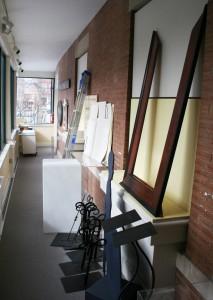 Hallway of stuff