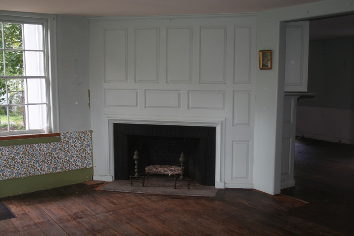 First Floor - southeast facing room