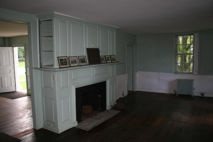 First Floor - southwest facing room