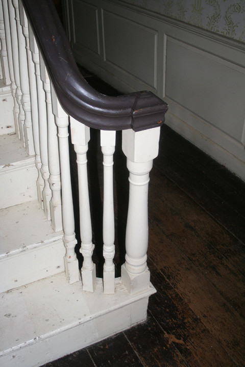 Front stairs of the house