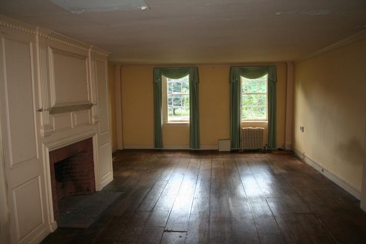 Ballroom - second floor of house