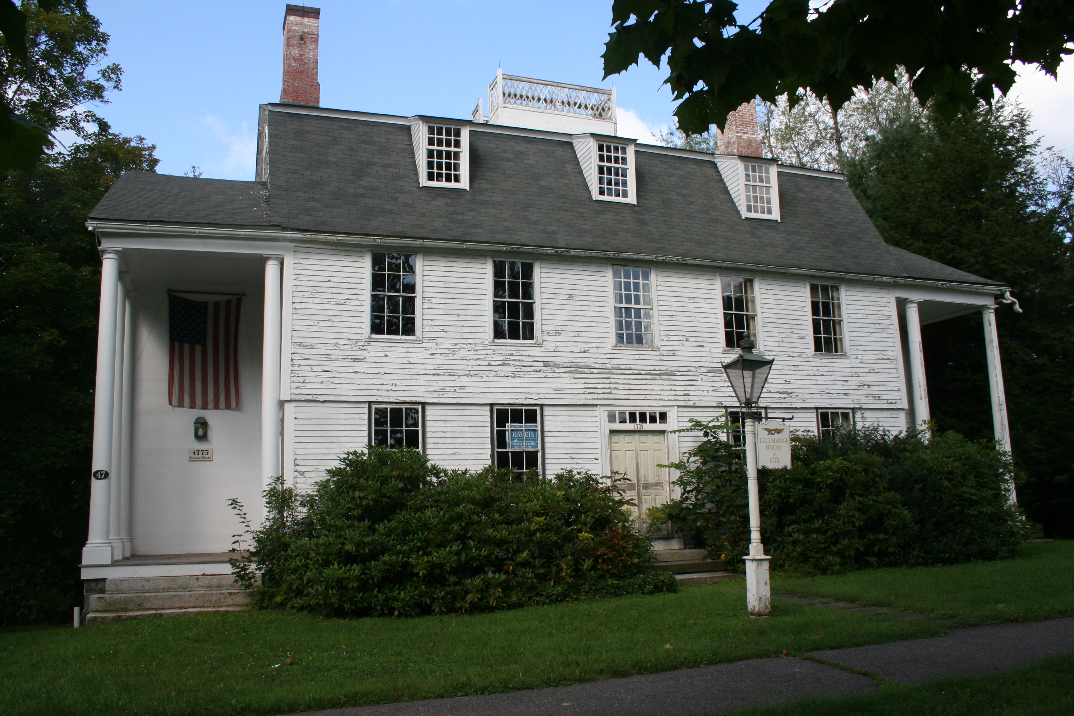 Tallmadge house exterior front 2